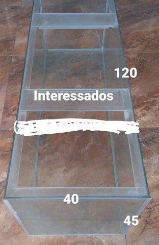 Aquario 1,20x40x45  216 litros  - Foto 2