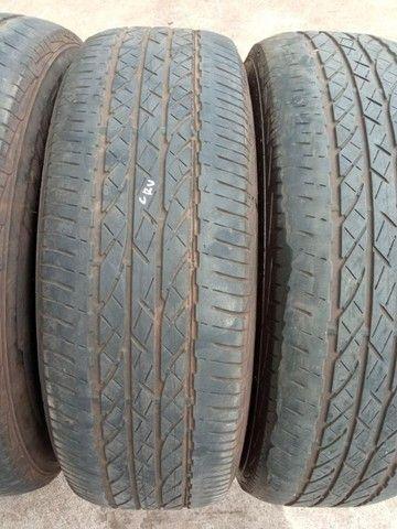 Jogo Pneus Sem Rodas Aro 17 Honda Crv 2011  - Foto 13