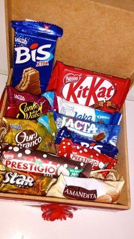 Caixinha com chocolate - Foto 3