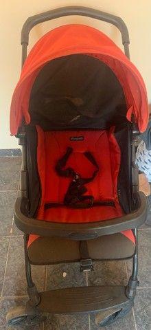 Carrinho+bebê conforto