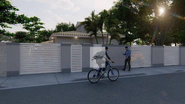 Excelente casa linear com 3 dormitórios à venda, 70 m² por R$ 310.000 - Enseada das Gaivot - Foto 3