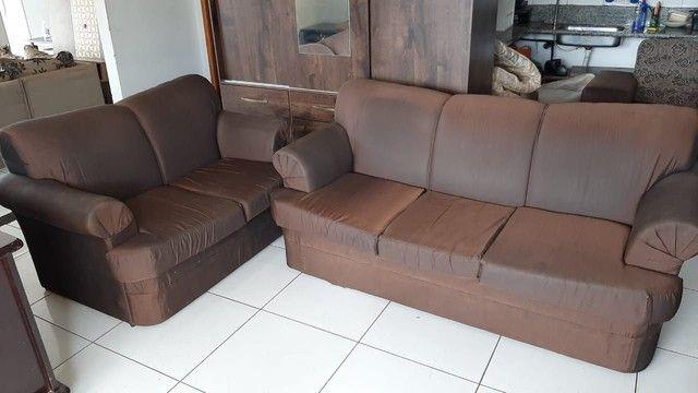 Sofá de 2 e 3 lugares ! Entrega gratis  - Foto 5