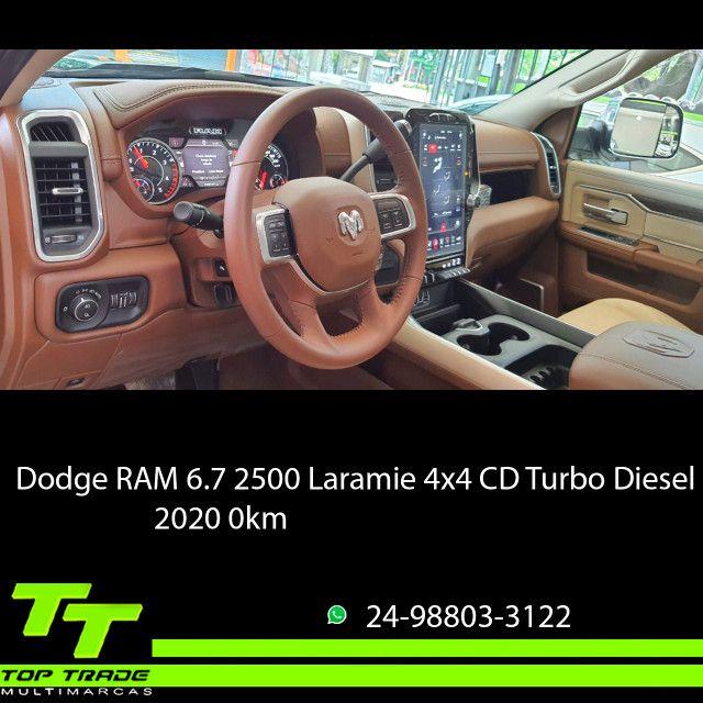 Dodge RAM 2500 Laramie 6.7 TDI Cd 4x4 Diesel 2020 0km - Foto 5