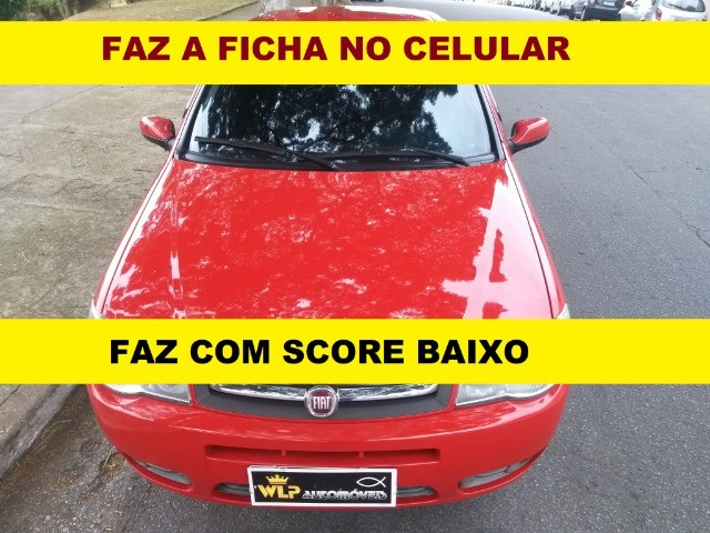 Financiamento com score baixo Fiat Palio fire financiamento para autonomo