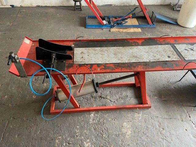Elevador/Ramp de Motos - Ar - Foto 2