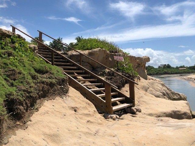 Terreno na praia Tabatinga II - A 150 metros do Mar - Posição Sul - Lote - Foto 8