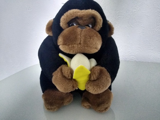 Pelúcia Macaco com banana - Foto 2