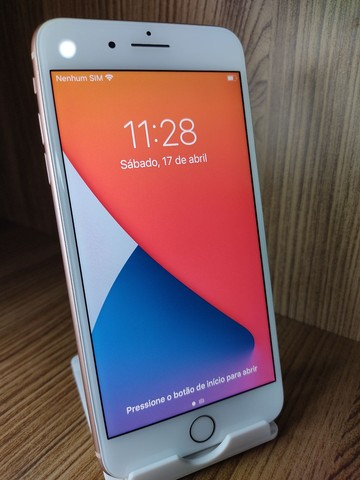 iPhone 8 plus dourado 64gb  - Foto 2