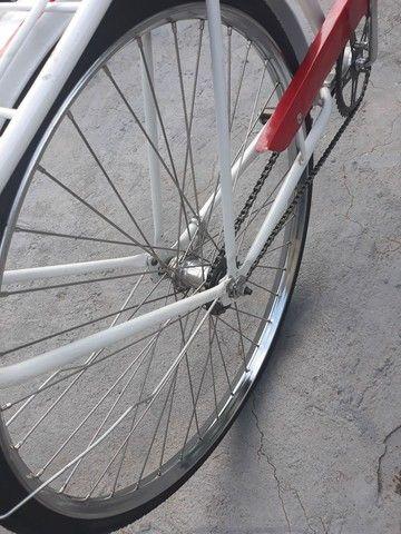 Vendo uma bicicleta antiga brasiliana Monark 1964 tudo novo   - Foto 6