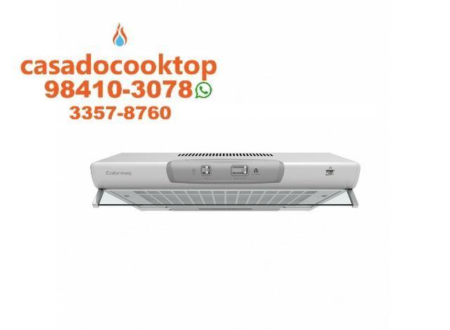 5942e7b44 Depurador de Ar Colormaq Cook Branco 3 Velocidades 60 cm - 220V ...