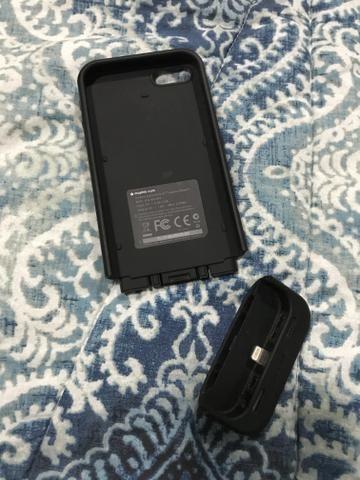 Capa carregadora para iPhone 5