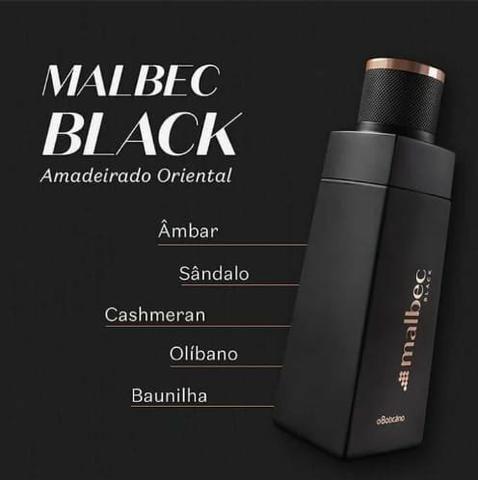 Kit Malbec Black Boticário - Foto 3