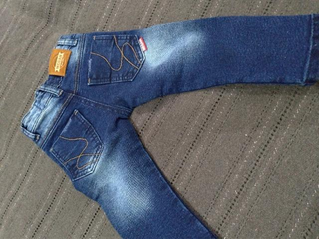 Calça jeans bebê menino - Foto 6
