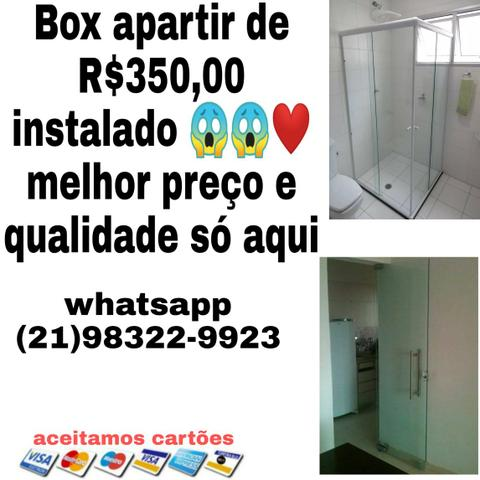 Vidraceiro ?box apartir de R$350 instalado ??