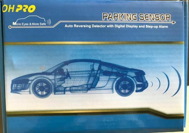 Sensor de estacionamento novo p/ carro branco