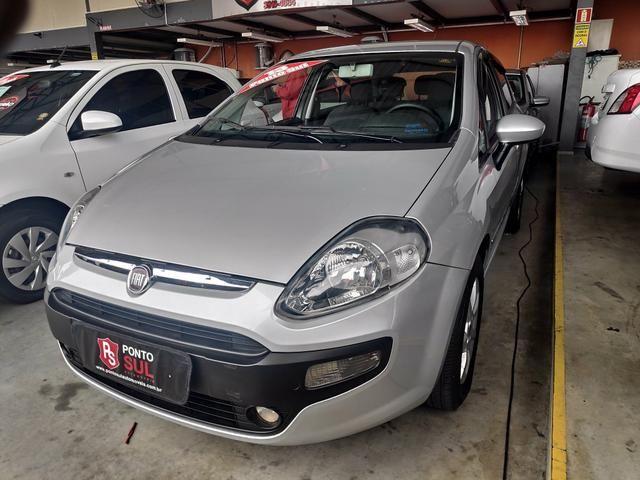 Fiat Punto Attractive Prata 2013 Completo