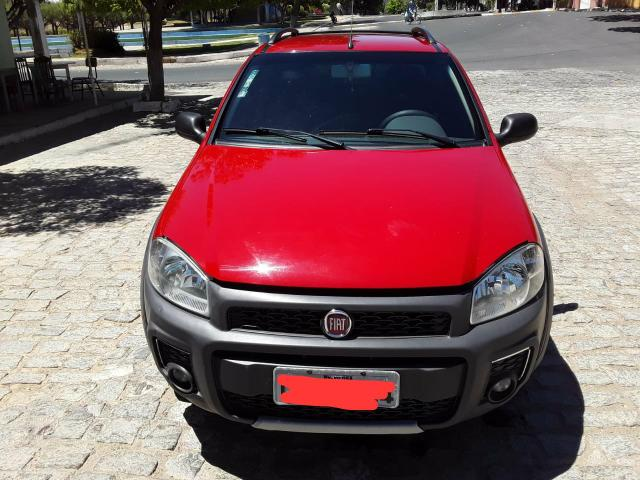 Fiat Strada Working 1.4 vermelha Apenas Venda - Foto 8