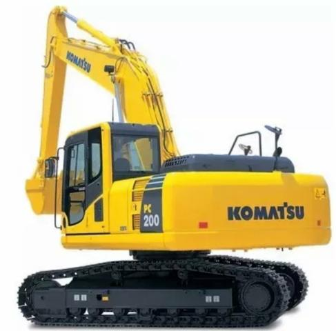 Escavadeira Komatsu Pc200 / 2018