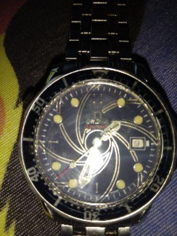 2a3d794fca6 Relogio omega seamaster professional 007 limited s