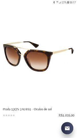 Óculos Prada original - Bijouterias, relógios e acessórios ... 9502a6a87a
