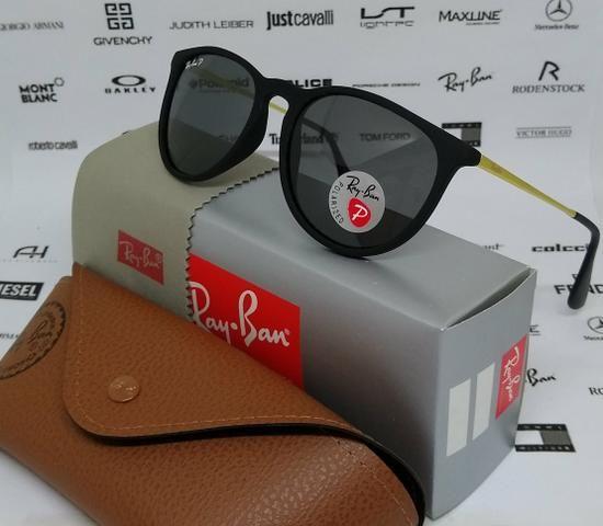 Óculos de sol Ray Ban Erika Polarizado Novo - Bijouterias, relógios ... e14cce0d0f
