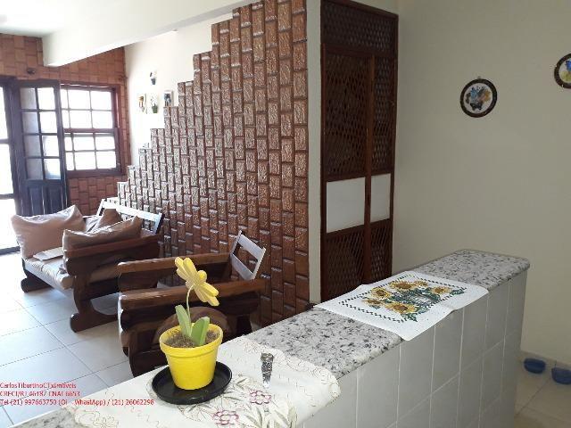 PC103 Linda Casa Duplex 2 Qtos, mobiliada, em Iguaba, Condomínio Lagoa Azul - Foto 7