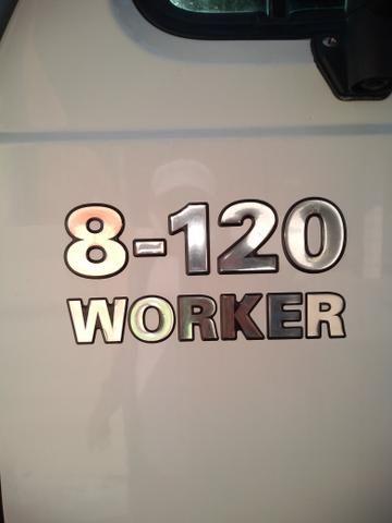 Volks 8120 WORKER.MWM 2007 baú - Foto 6