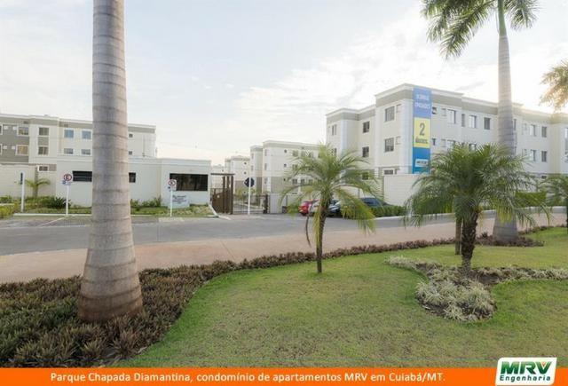 RARO! Apartamento 2 Quartos com Jardim Privativo. Parque Chapada Diamantina MRV - Foto 8