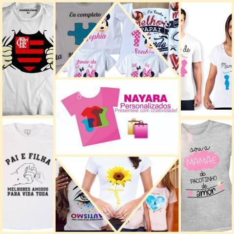 Camisetas Personalizadas - Arte Grátis - Foto 4