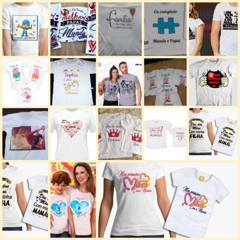 Camisetas Personalizadas - Arte Grátis - Foto 2