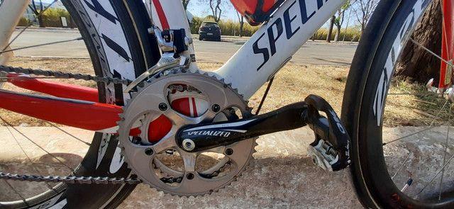 Bike TT Triathlon Specialized Transition Pro full carbono - Foto 4
