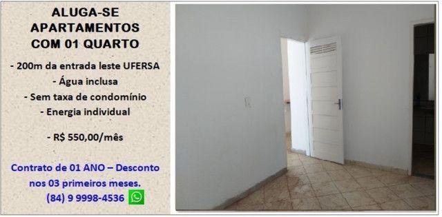 Aluga-se apartamentos próximo a Ufersa - Costa e Silva Mossoró - Foto 2