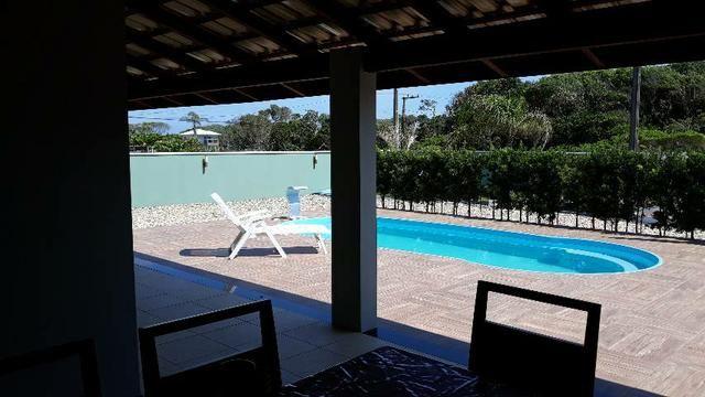 Casa com Piscina Temporada Praia do Ervino - Foto 4
