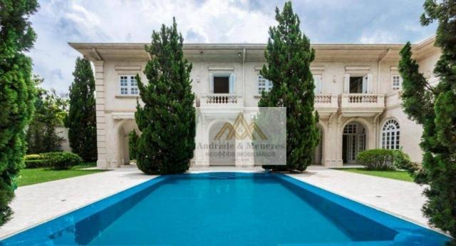 Sobrado com 5 dormitórios para alugar, 1120 m² por R$ 25.000,00/mês - Condomínio Country V