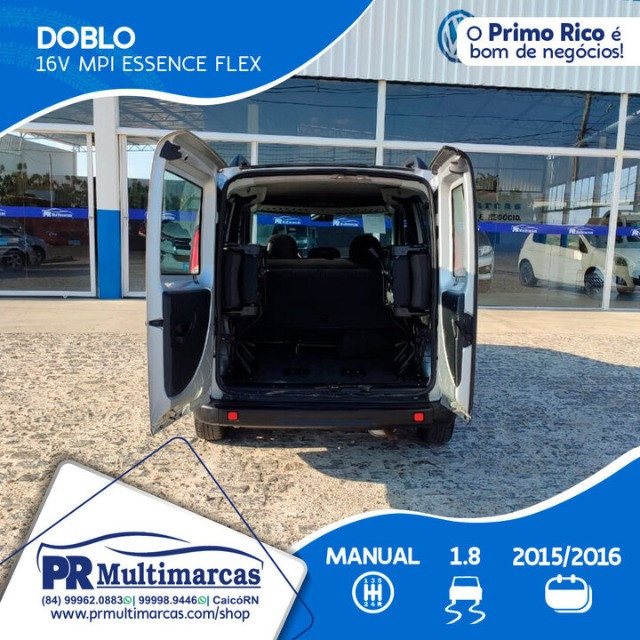 Fiat Doblo Essence 07Lug 1.8 2016 - Foto 5