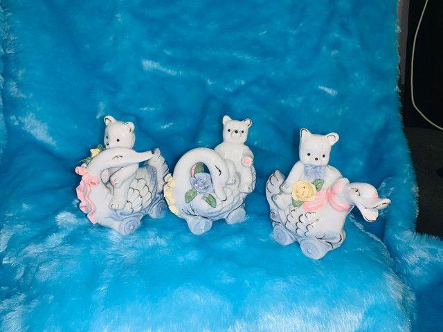 Porcelana conjunto com 3 peças - Foto 3