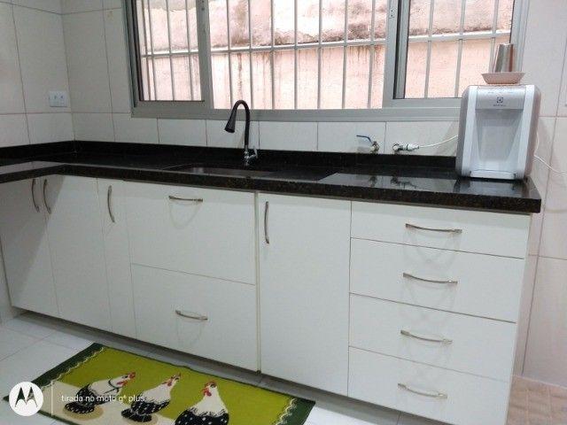 Gabinete+pia (pedra verde ubatuba) - Foto 2