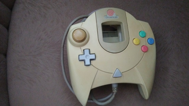 Controle Dreamcast (Ps1,Ps2,Ps3,mega drive,nintendo,3ds,xbox,wii,psp,3do,pc,Game Boy)