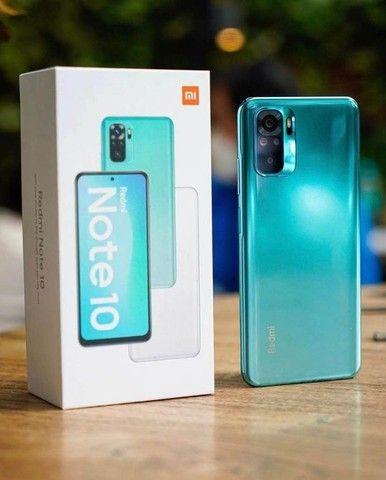 Redmi Note 10 64GB/4GB Ram Cinza/Verde  - Foto 6