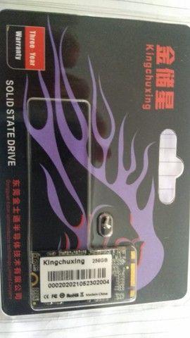 Kingchuxing ssd m2 sata ngff m.2 2242 disco rígido 256gb - 201 - Foto 3