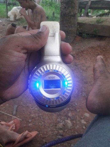 Fone via Bluetooth e cartao de memoria