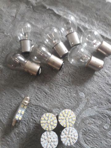 Jogo de lampadas em led e par de lanterna traseira - Foto 3