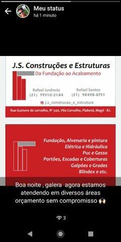 J.s.construções e estruturas  - Foto 3