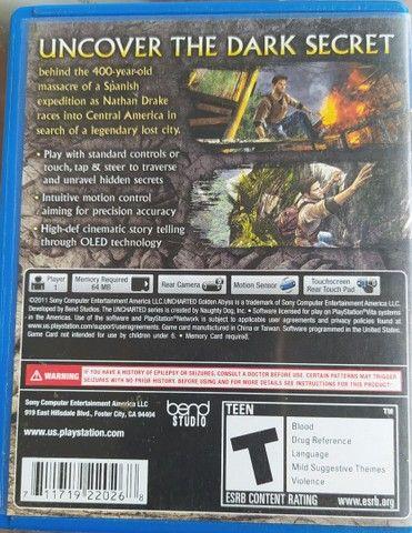 Jogo PS Vita UNCHARTED - Foto 2