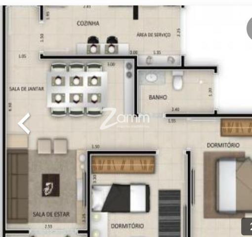 Apartamento à venda com 2 dormitórios em Green village, Nova odessa cod:AP003933 - Foto 3