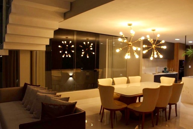 Maravilhosa casa de condomínio com 4 suítes Alphaville Litoral Norte 1 Camaçari BA - Foto 3