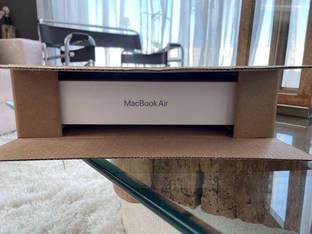 Macbook Air M1 256gb Space Gray Novo na caixa