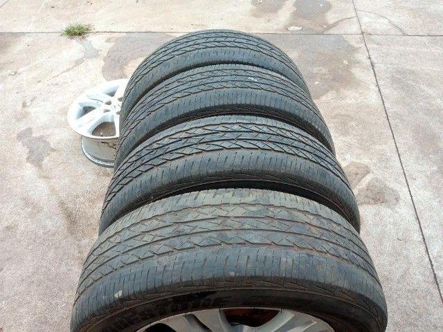 Jogo Pneus Sem Rodas Aro 17 Honda Crv 2011  - Foto 11