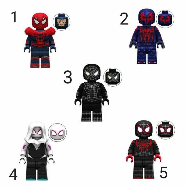 Boneco estilo Lego