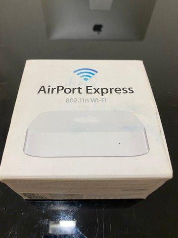Air Port Apple original com todos acessórios - Foto 3